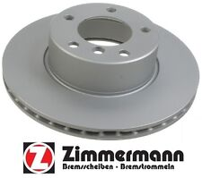 BMW 525i Zimmerman Discs Front Disc Brake Rotors 2 150.1284.20 34116767061