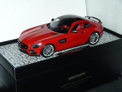 BRABUS 600 base Mercedes AMG GT S rouge 1:18 Minichamps