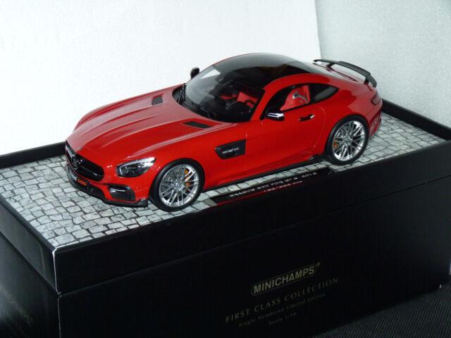 Promo : Mercedes Benz Brabus 600 For GTS Au 1/18 de Minichamps 107032521