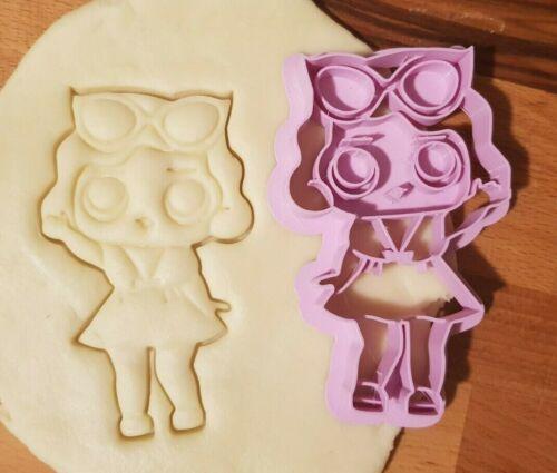 Tagliabiscotti a forma di bambola LOL Surprise