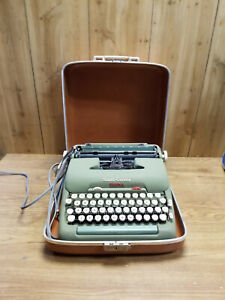 Vintage Smith-Corona Electric Typewriter w/ Case