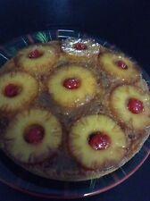 PINEAPPLE UPSIDE DOWN CAKE RECIPE - Receta Bizcocho/ Torta De Piña Alrrevez