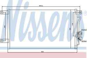 Nissens-Condenser-94790-Fit-with-Mitsubishi-L200