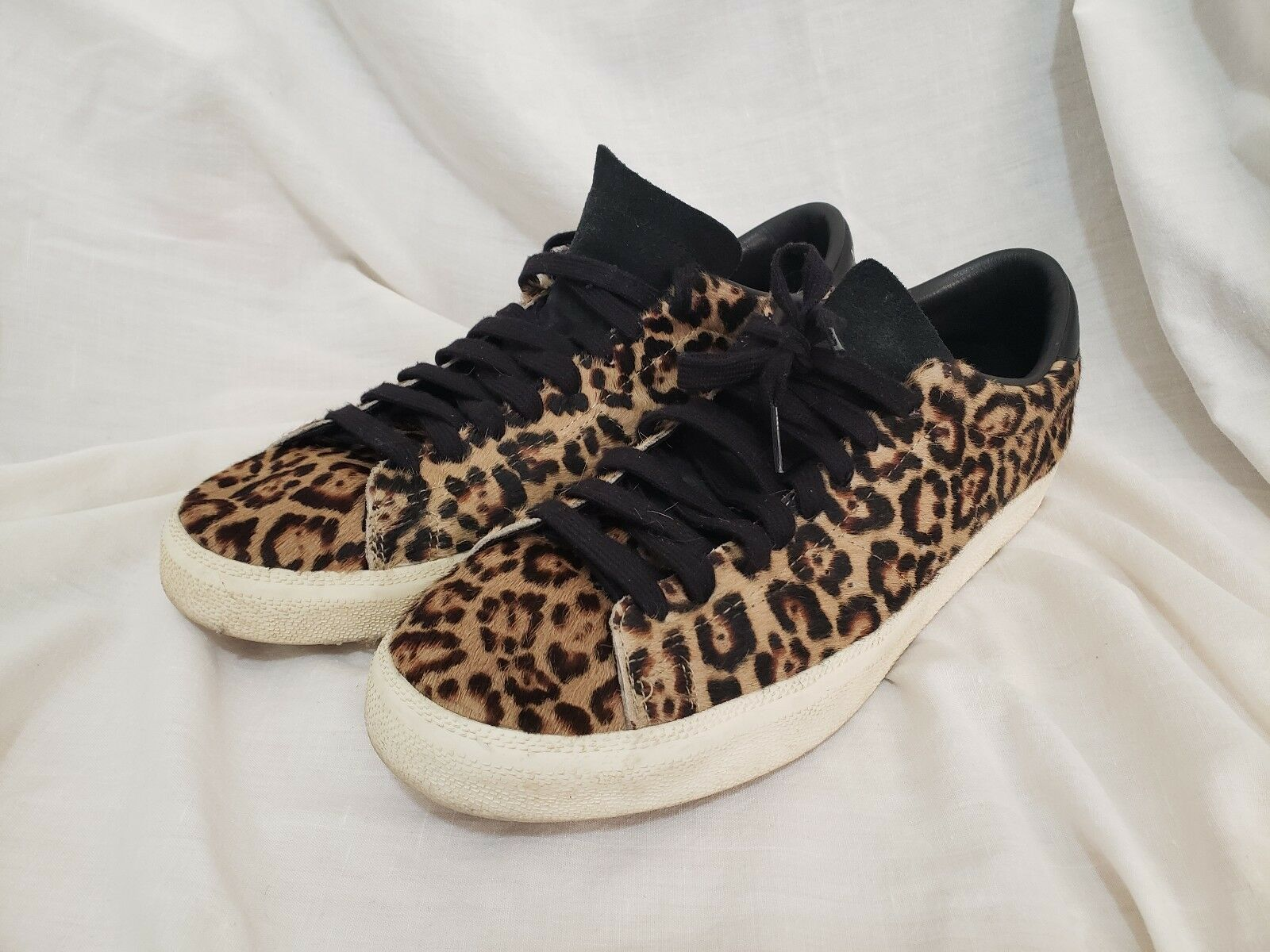 Adidas Match Play Low Top Leopard Suede Walking shoes 11