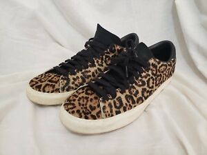 official photos 72d28 bdb57 Image is loading Adidas-Match-Play-Low-Top-Leopard-Suede-Walking-