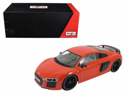 MAISTO AUDI R8 V10 PLUS RED EXCLUSIVE EDITION 1 18 DIECAST MODEL 38135