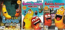 DVD Anime Larva + Larva & Friends + Larva Return Complete TV Series Ep 1-156 End