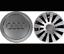 AUDI-4-x-145mm-Alufelgen-Felgendeckel-Nabenkappen-Silver-Wheel-Cap-4E0601165A Indexbild 1