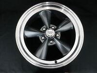 Chevy Mag Wheels Grey Machined Edge Set 4 2 X 15 X 7+ 2 X 15 X 8 + Lug Nuts