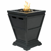 Bcp Patio Outdoor Tabletop Fire Bowl Firepit Glass Rock Firepit Cover on sale