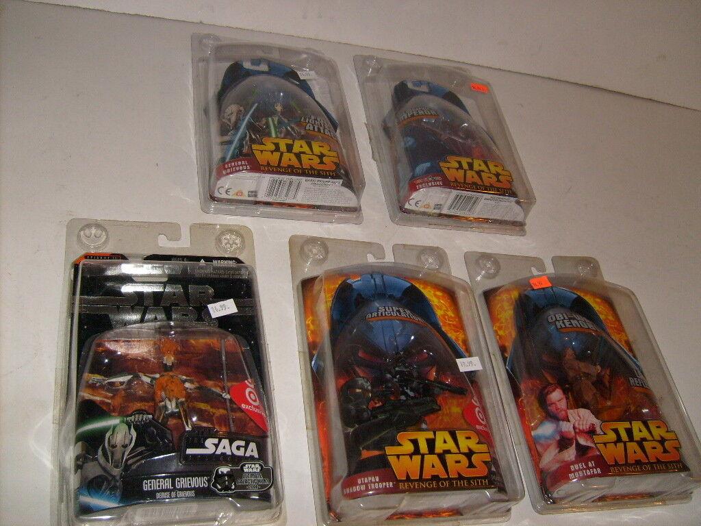 Star Wars Revenge of the Sith TARGET SHADOW TROOPER LAVA SAGA General Grievous