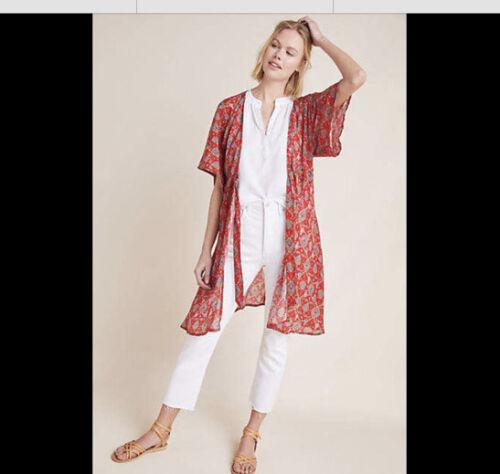 Anthropologie Cinched Kimono Cape by Rujuta Sheth