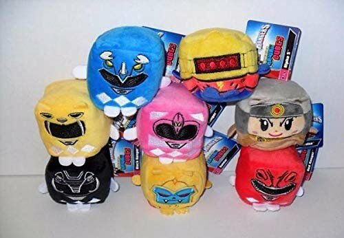 The Wish Factory Kawaii Cubes Power Rangers Plush LOT of (8)