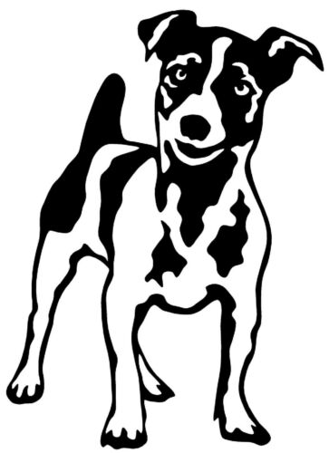 JACK RUSSELL TERRIER Vinyl Decal Sticker Car Window Wall Bumper Dog Puppy Love