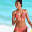 Damen Neckholder Bikini Set Push Up Badeanzug Bademode Schwimmanzu Zweiteiligen