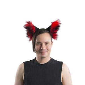 3051 PAWSTAR Cat Ear Headband Brown Furry Cosplay Halloween Costume CLABR