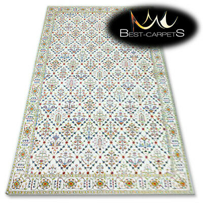 "TRADITIONAL AGNELLA RUGS cream traditional /""STANDARD/"" modern designs carpet"
