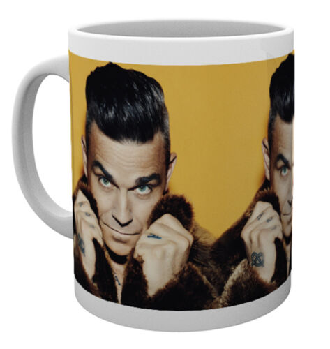 Robbie Williams Fur Mug