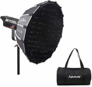 Aputure Light Dome 35 Inch Deep Octagon Softbox for Aputure 120D Mark 2 Aputure 300D Aputure 120D Aputure 120T Godox AD600B AD600BM Flashpoint XPLOR 600 and Other Bowen-S Mount Lights