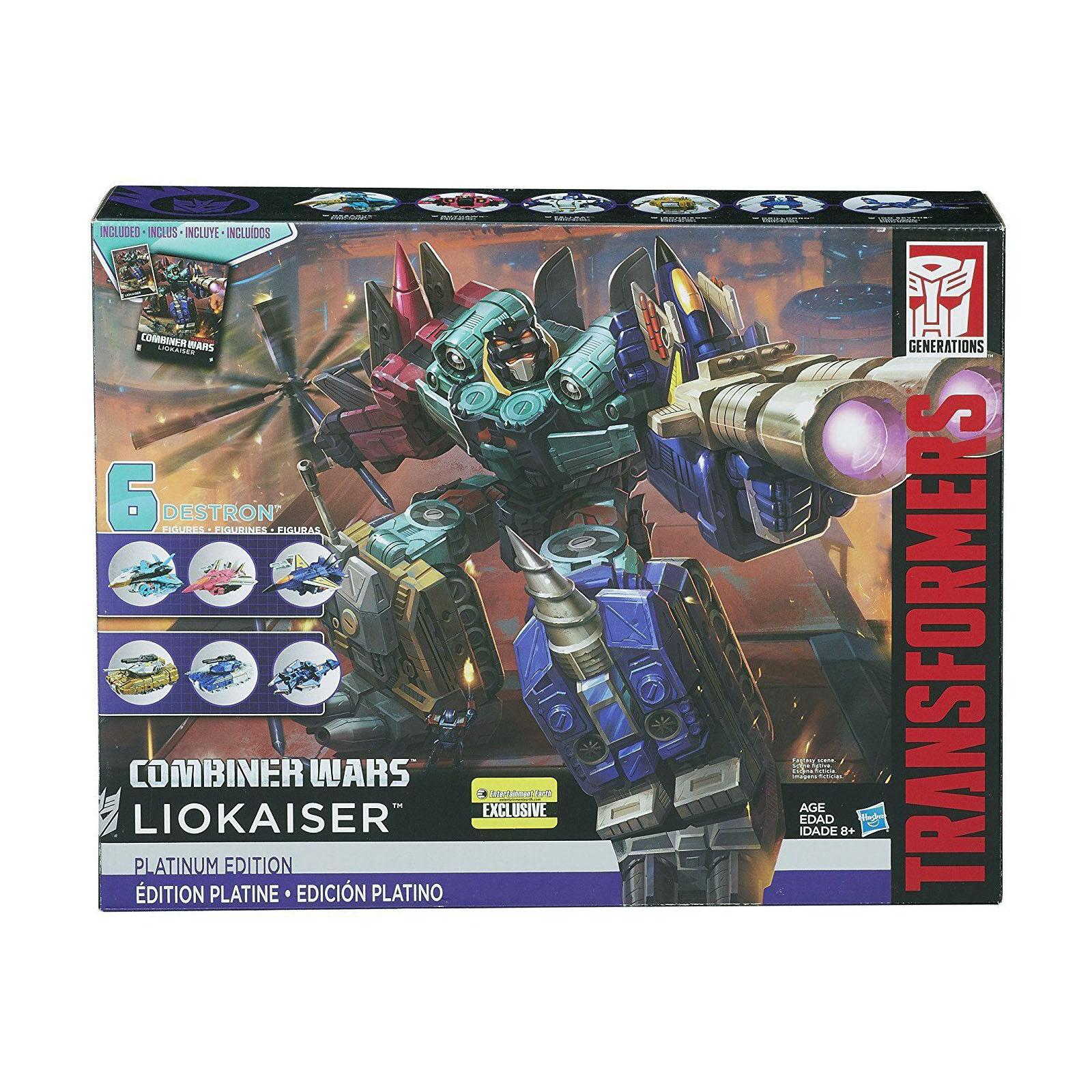 Transformers Generations Platinum Edition Combiner Wars LIOKAISER Spielzeug NEU