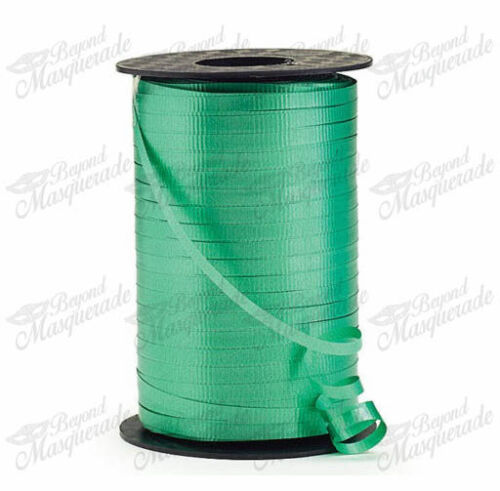 """Spool Balloons Crimped Curling Ribbon Emerald Green 1500ft 3//16/"""" 500 YDS"""