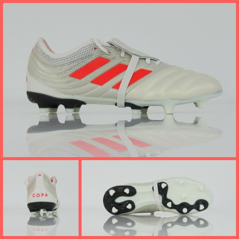 ADIDAS football shoes COPA GLgold 19.2 FG D98060 colour OFF WHITE RED december 18