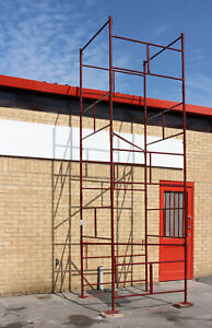 New D I Y Steel Scaffold Tower Scaffolding Tower 4x4x18 Wh
