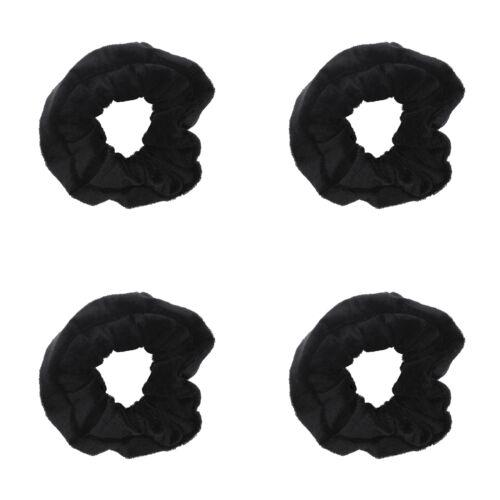 Basic Hair Accessory Zac/'s Alter Ego Set of 4 Value Velvet Hair Scrunchies