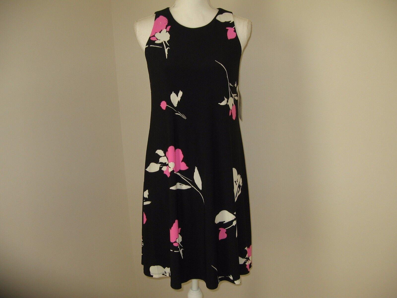 Lauren Ralph Lauren Floral A-Line Dress SIZE 4 NWT MSRP