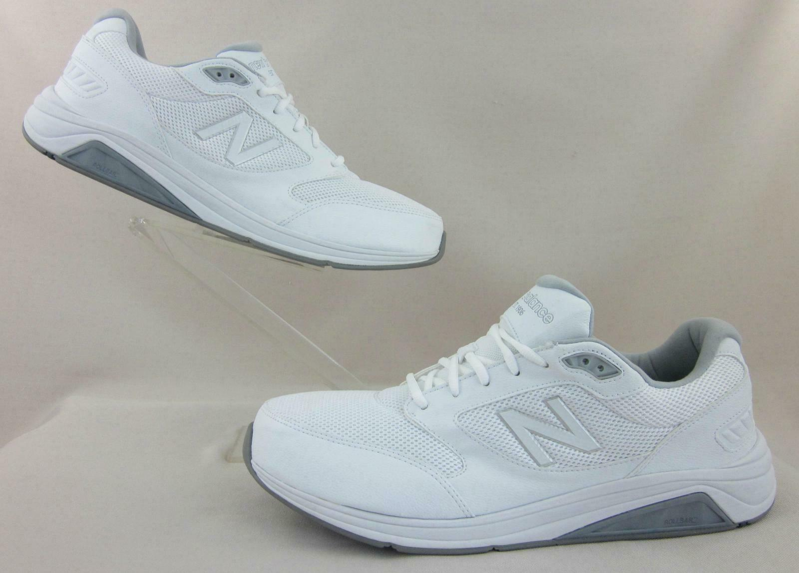 NEW  New Balance 928v2 Walking shoes White US 14 2E WIDE MW928WM2