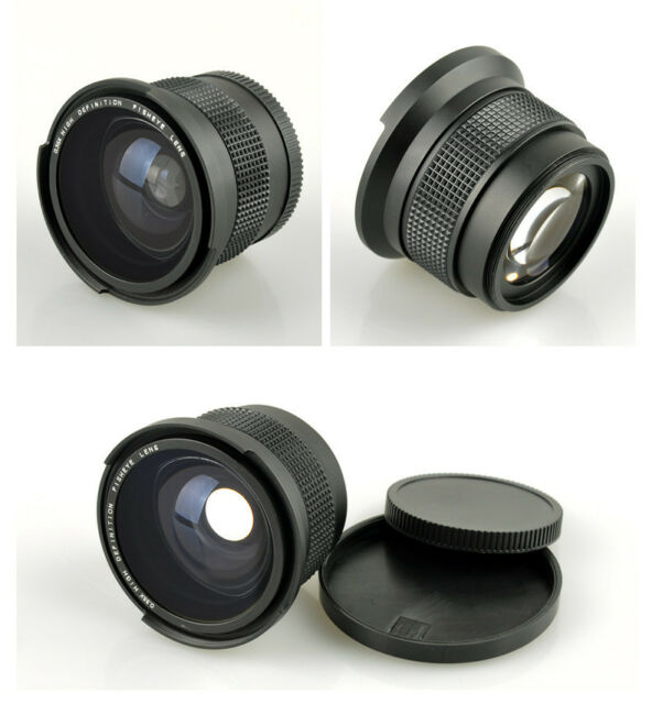 0.35x Fisheye Wide Angle 52mm Lens for Canon EOS 700D 650D 600D 1100D 1000 550D
