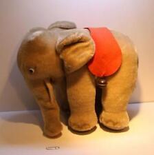 antik Steiff Elefant Mohair Länge 24 Höhe 20 Nr 0500/17 Knopf Glasaugen