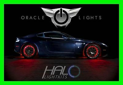 RED LED Wheel Lights Rim Lights Rings by ORACLE (Set of 4) for FORD MODELS 3
