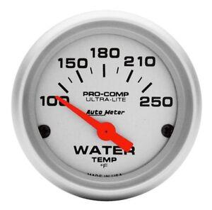 Auto-Meter-Water-Temperature-Gauge-Pro-Comp-Ultra-Lite-Air-Core-Movement-4337