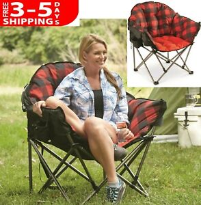Astounding Details About Large Folding Oversized Travel Foldable Camp Camping Chair Seat W Carry Bag Alphanode Cool Chair Designs And Ideas Alphanodeonline