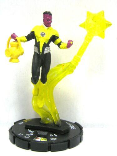 HeroClix DC 75th Anniversary #60 Sinestro Super Rare