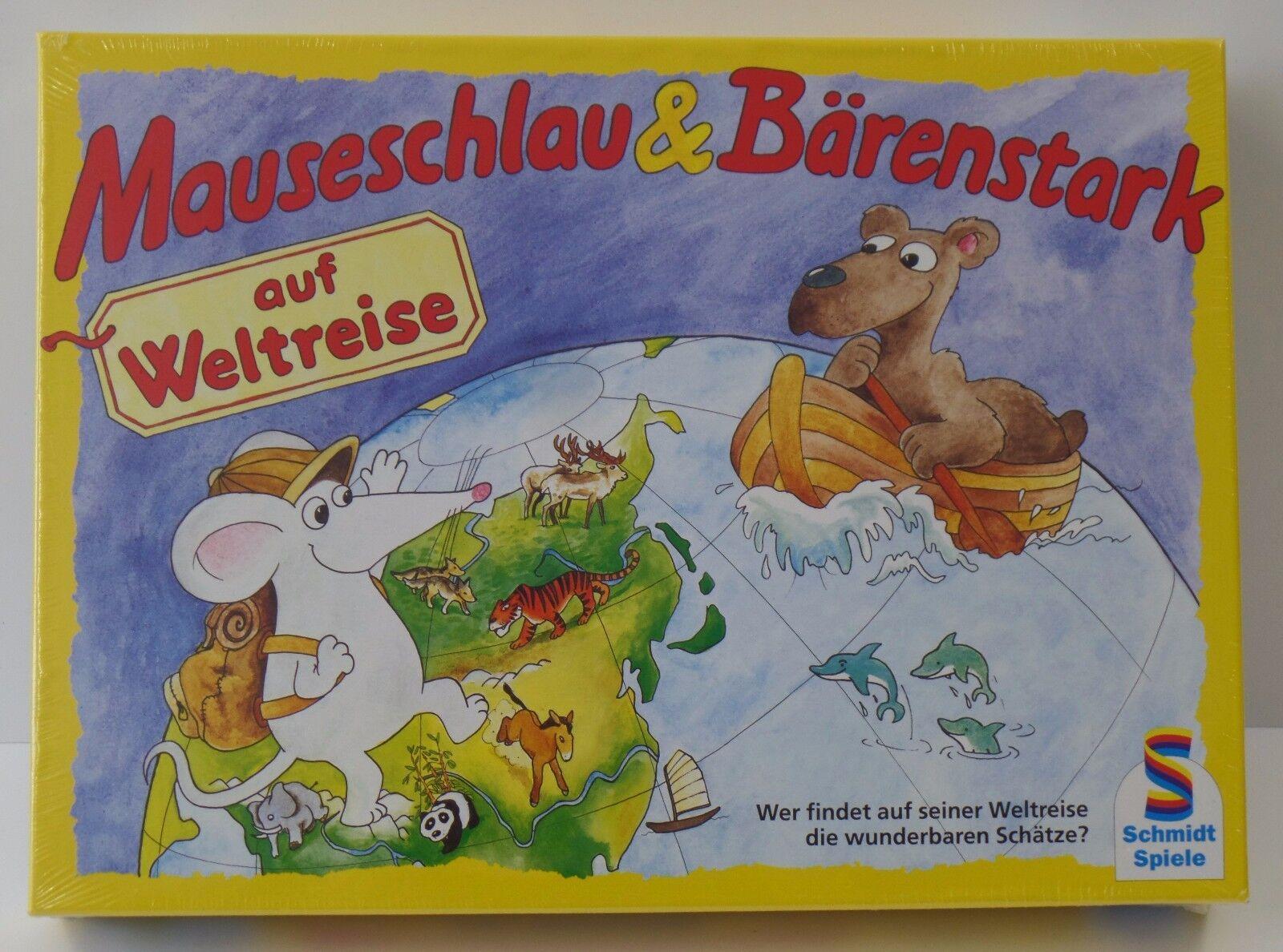 Schmidt Mauseschlau & Bärenstark auf Weltreise - NEU NEW - Eingeschweißt