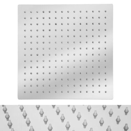 Kopfbrause Regendusche Regenbrause Duschkopf Edelstahl poliert 30x30cm B-Ware
