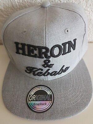 HEROIN /& Kebabs Snapback Cap,Basecap