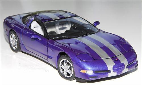 Franklin Mint 2000 Corvette Platinum Power LE 500 1/24 Scale. Hard to find!