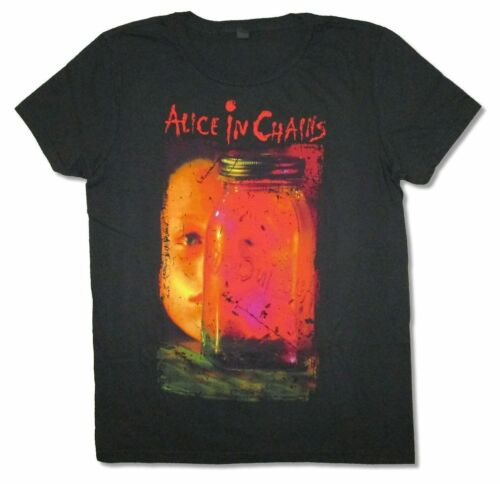 Alice in Chains Jar Of Flies Album Cover Black T Shirt New Official AIC