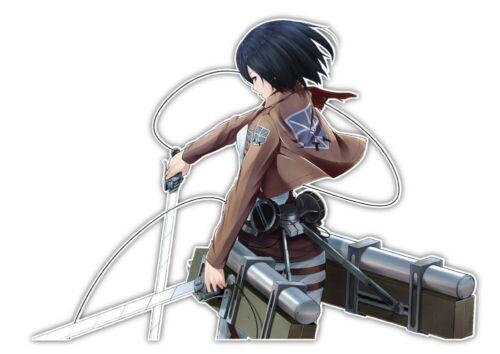 Attack On Titan Mikasa Ackerman Anime Car Decal Sticker 011