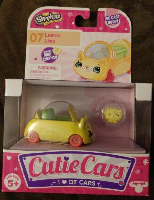 Lemon Limo Die Cast Cutie Car #07 Cutie Cars Diecast