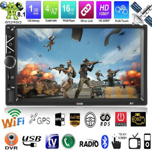 7-034-Touchscreen-Android-8-1-Autoradio-MP5-Player-GPS-Navi-WiFi-FM-Radio-USB-2DIN