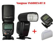 Yongnuo YN600EX-RT II TTL master flash speedlite for canon + YN-E3-RT Controller