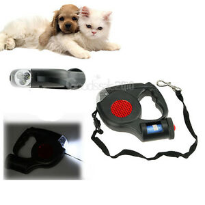 5M-Dog-Traction-Rope-Automatic-Retractable-Leash-3-LED-Lights-With-Garbage-Bag