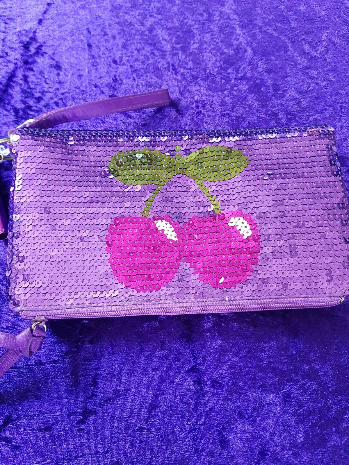 NEW Pacha clutch bag medium purple