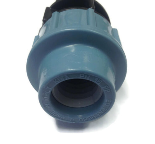 MDPE x  Hose Connector