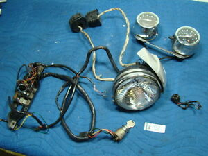 eps14712 harley fxr headlamp gauges switches panel wiring 2013 dyna switchback speedometer wiring
