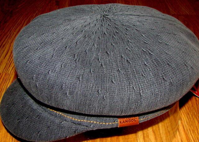 Black Wash KANGOL Indigo Enfield Cap Style K3139HT